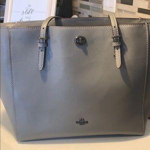 Gray Coach Bag / Tote